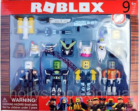 Роблокс волшебники. Набор фигурок из 4 героев +12 аксессуаров, фото 2