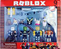 Роблокс волшебники. Набор фигурок из 4 героев +12 аксессуаров