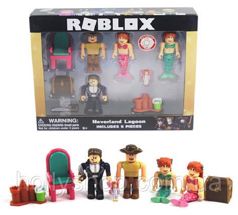 Роблокс Набор из 4 фигурок Roblox Русалки, фото 2