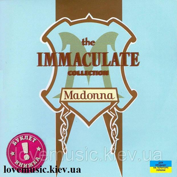 Музичний сд диск MADONNA The immaculate collection (1990) (audio cd)