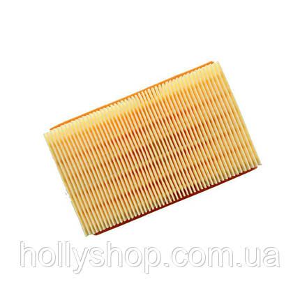Плоский складчастий фільтр пилососа KARCHER для mv4 mv5 mv6 wd4 wd5 wd6, фото 2