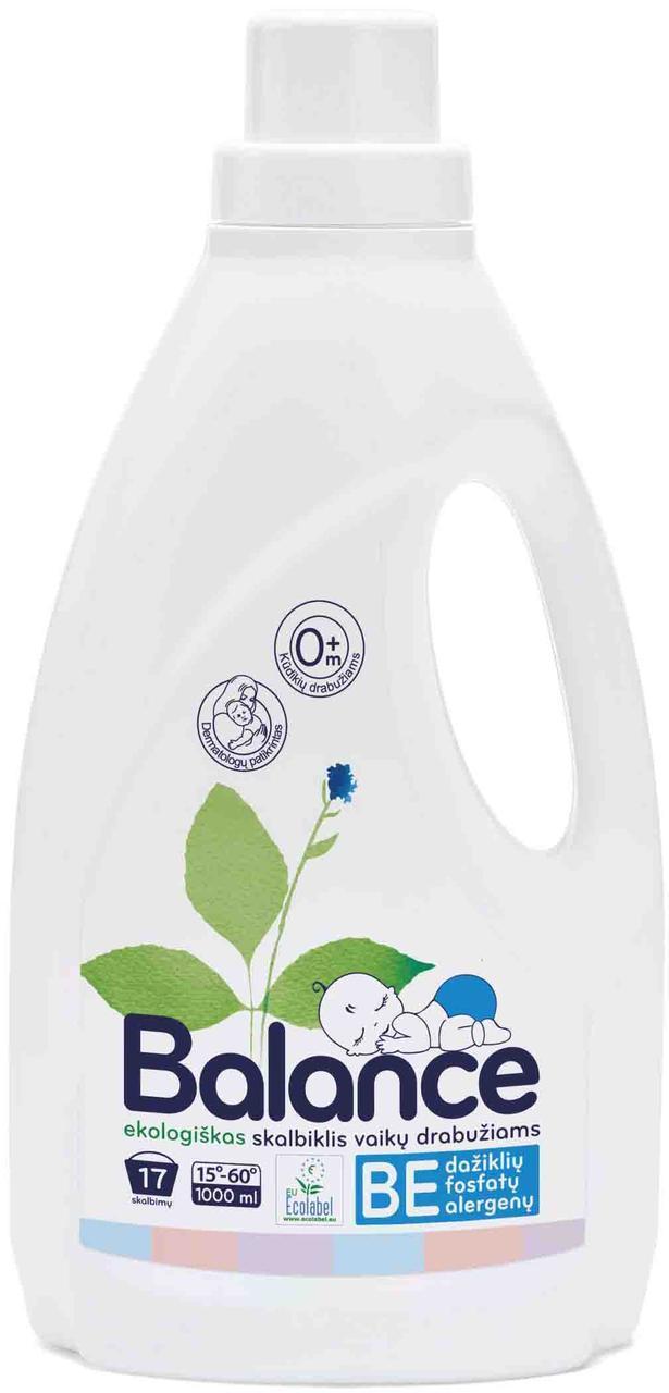 Гель для прання дитячої білизни Balance, 17 прань (1л.)