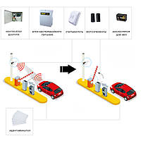 RFID готовое решение автоматического распознавания машин для парковки, гаража, двора, жилого комплекса