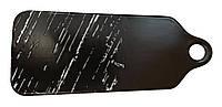 """Доска фарфоровая для подачи """"Чёрный камень"""" 300 мм Helios G1730"""