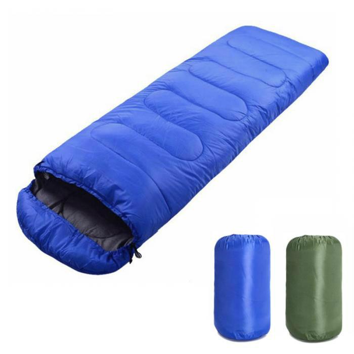 Спальный мешок с капюшоном для лета