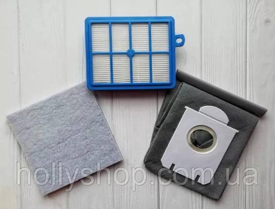Комплект фильтр для пылесоса Philips fc 9170 fc9174 мешок фільтр hepa, фото 2