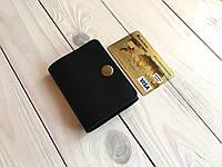Мужской кожаный кошелек-зажим для денег ручной работы Goose™ G0037 черный