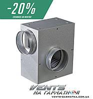 Вентс КСА 100 2Е У. Шумоизолированный вентилятор с регулятором скорости и температуры