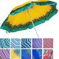 Пляжный зонт  с защитой от ультрафиолета Anti-UV (200см)
