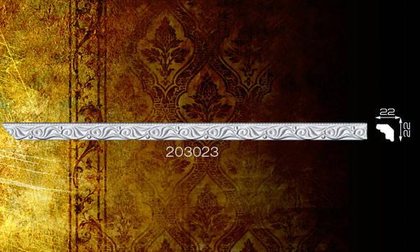 Плинтус потолочный 203023 22*22мм 2м
