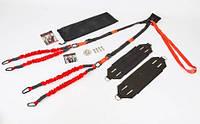 Тренажер для Банджи Фитнес 4D PRO TRAINER FI-7206 (ремни, ленты, рукоятки, удлинитель, дверное крепление, X-Mo