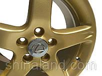 Порошкове фарбування дисків R13 Gold - легкосплавний (без алмазної поллировки), шт.