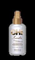Несмываемый Кератиновый кондиционер для волос - CHI Keratin Leave in Conditioner 177мл
