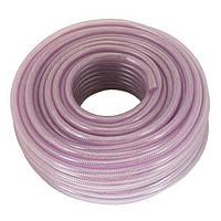 Шланг PVC высокого давления армированный 6мм*50м, Intertool PT-1740