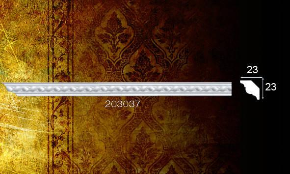 Плинтус потолочный 203037 23*23мм 2м