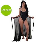 """Пляжная юбка-парео """"Шанталь"""", фото 1"""