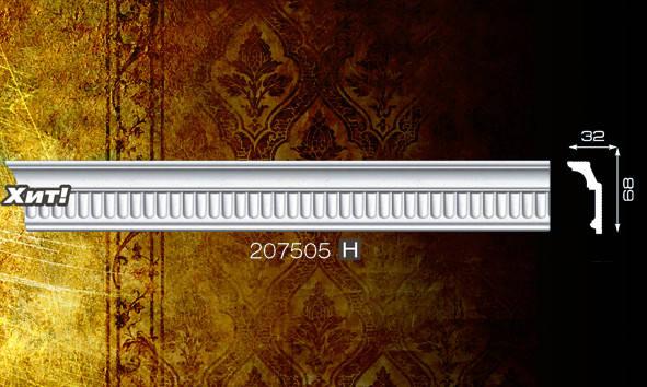 Плинтус потолочный 207505 32*68мм 2м
