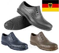 Мужские рабочие туфли Окфорды. Защитная мужская обувь EVA, производство Германия - Украина. Масло бензостойкие