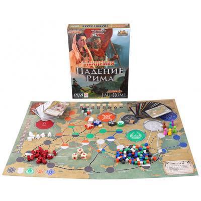 Настольная игра Стиль жизни Пандемия: Падение Рима (321955) 2