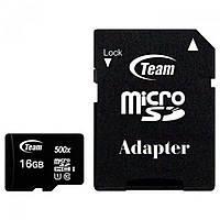 Карта памяти Team 16GB microSD class 10 UHS-I (TUSDH16GCL10U03)
