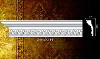 Плинтус потолочный 211529 47*105мм 2м