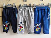 Спортивные штаны для мальчиков оптом, Дисней, размеры 68-86, арт. 91505
