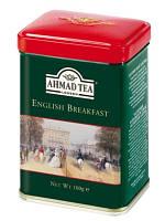 Чай черный листовой English Breakfast Ahmad Tea, 100г