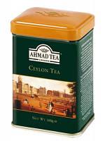 Чай черный листовой Ceylon Tea Ahmad Tea, 100г