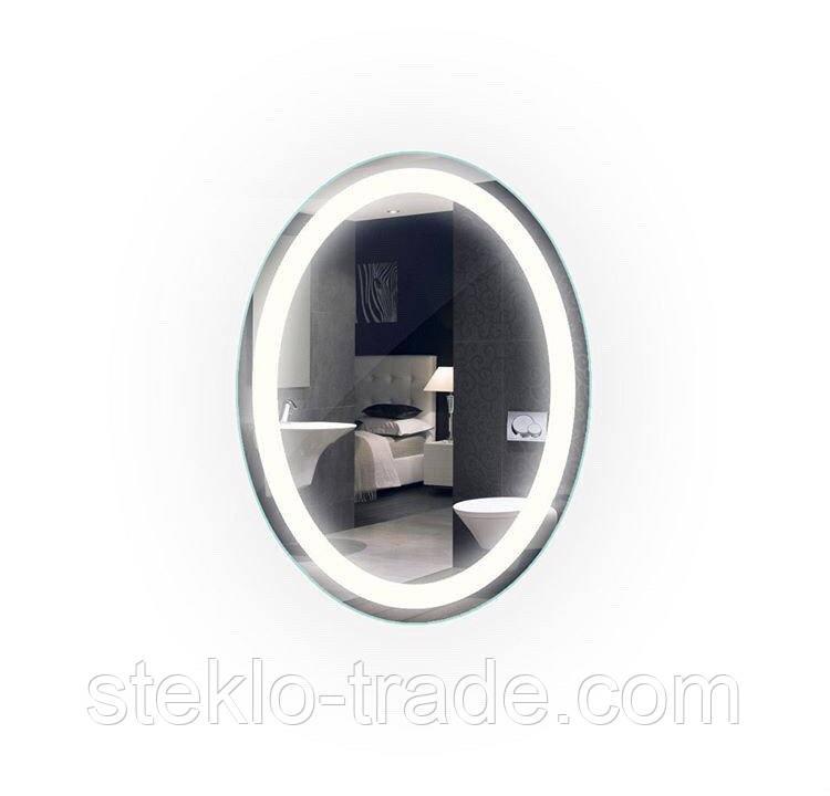 Зеркало с LED подсветкой ОВАЛ