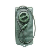 Гідратор туристичний 2л, питна система, гидратор для рюкзака (Велосипед, Туризм, Активний Відпочинок) Зелений