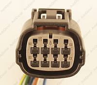 Разъем электрический 8-и контактный (29-25) б/у