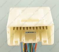Разъем электрический 22-х контактный (34-20) б/у 11926