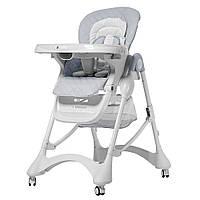 Стульчик для кормления детский Carrello Caramel CRL-9501 GRAY серый