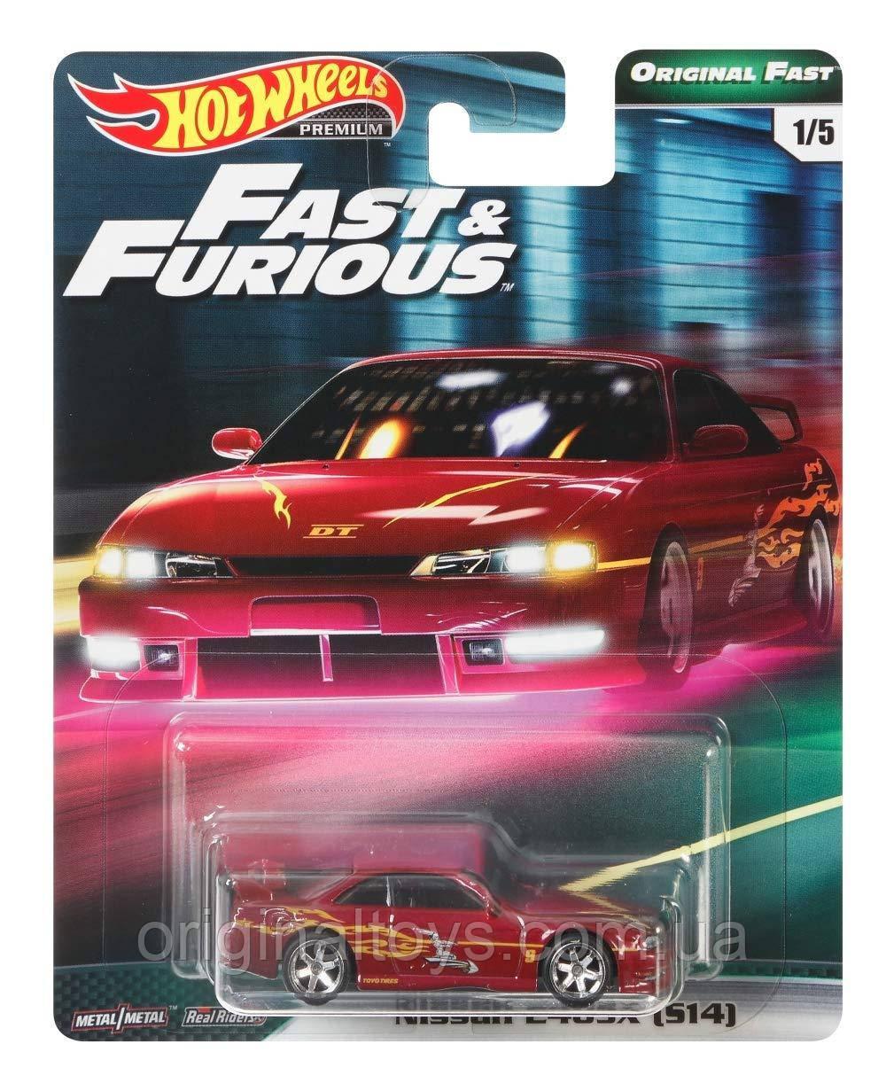 Коллекционная машинка Hot Wheels Nissan 240 SX S14 Kouki