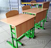 Комплект мебели для первого класса НУШ (парта одноместная+стул) ростовая группа № 2-4
