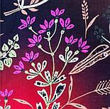 Палантин из вискозы 10807-8, павлопосадский палантин из вискозы, размер 65х200, фото 6