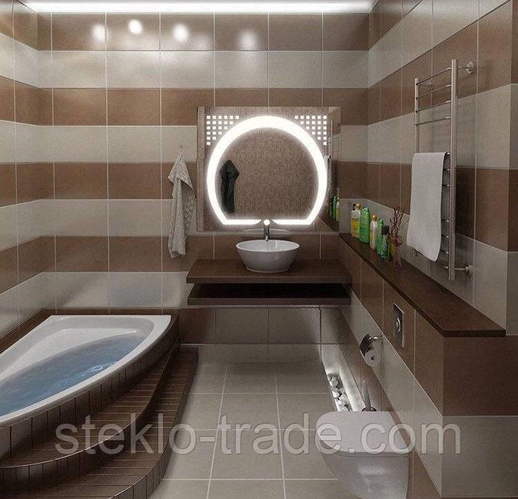 Зеркало с LED подсветкой ДАКАР