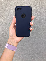 Чехол  iPhone 6, 6s, 6 Plus, 6s Plus, 7, 7 Plus, 8, 8 Plus, X, Xs, 10 Синий, Бампер Накладка на Айфон, , фото 3