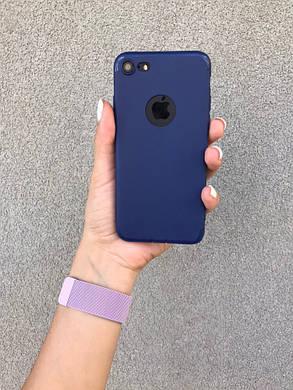 Чехол  iPhone 6, 6s, 6 Plus, 6s Plus, 7, 7 Plus, 8, 8 Plus, X, Xs, 10 Синий, Бампер Накладка на Айфон, , фото 2