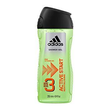 Гель для душу чоловічий 3в1 Adidas Active Start 250мл.