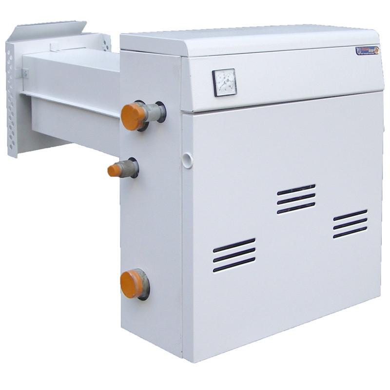 Двухконтурный газовый котел парапетный (бездымоходный) 16 кВт ТермоБар КС-ГВС-16ДS