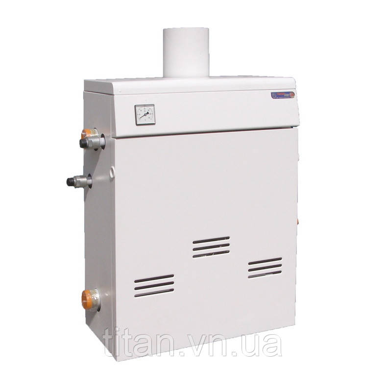 Газовий котел підлоговий димохідний 16 кВт ТермоБар КС-Г-16ДЅ