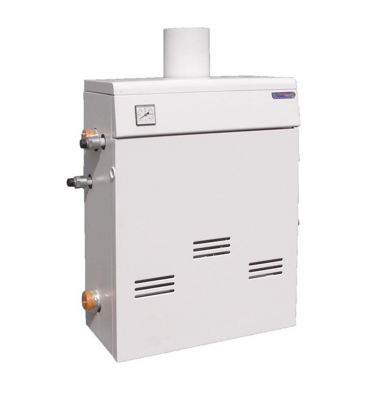 Двухконтурный газовый котел напольный дымоходный 10 кВт ТермоБар КС-ГВ-10ДS