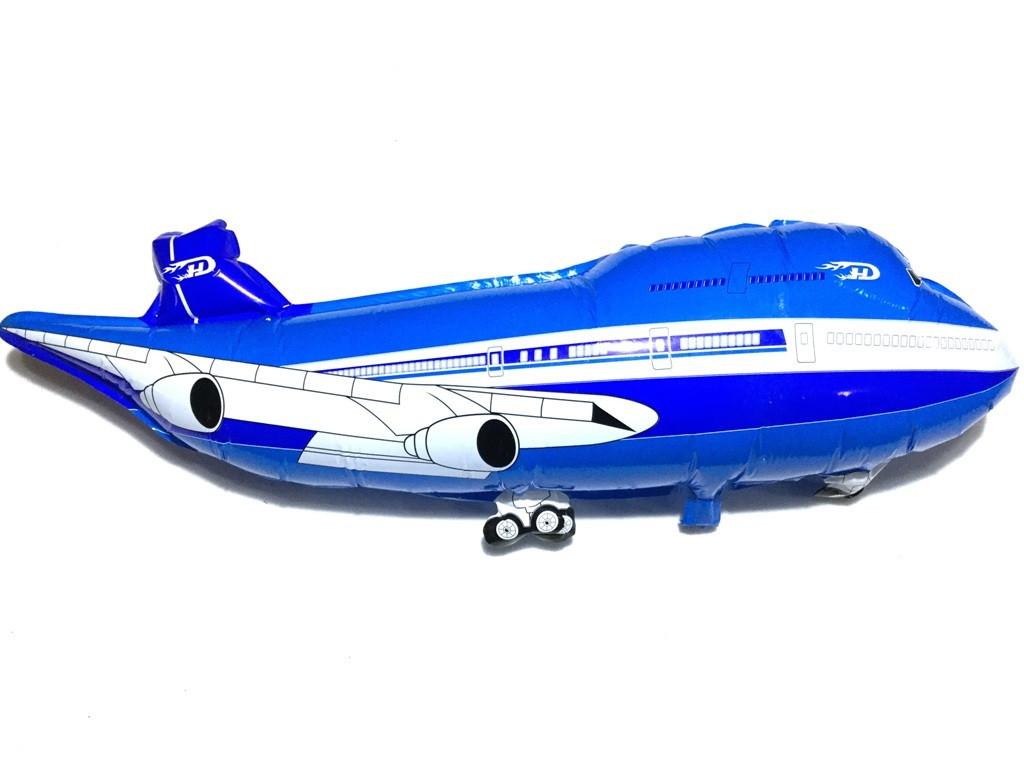 """Фольгированный шарик """"Самолет"""", 1 метр"""