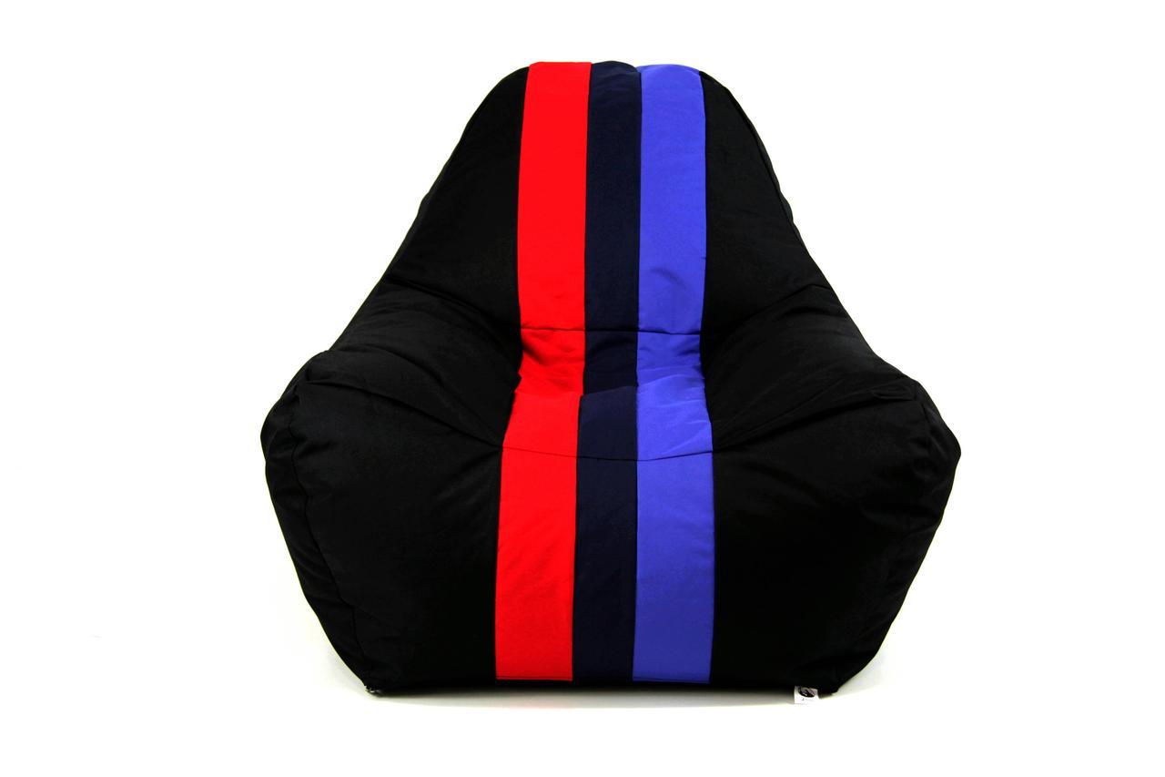 Бескаркасное кресло мешок диван BMW M