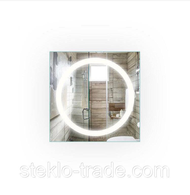 Зеркало с LED подсветкой ДЖАЗ