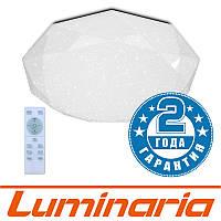 Потолочный светодиодный светильник LUMINARIA ALMAZ 60W R-500-SHINY-220V-IP44 с пультом ДУ