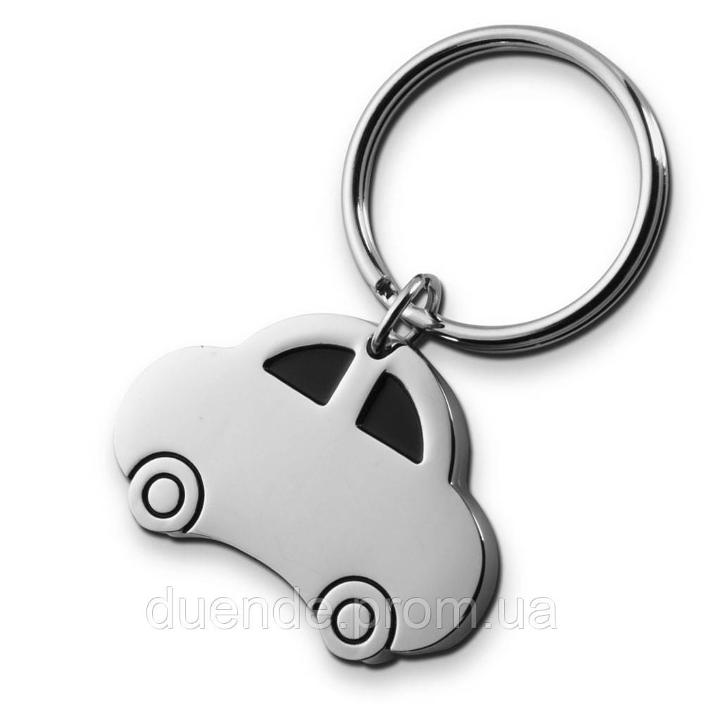 Металлический брелок в в форме автомобиля, цвет Серебро - su 95361532