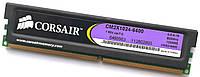 Игровая оперативная память Corsair DDR2 1Gb 800MHz PC2 6400U 2R8 CL5 (CM2X1024-6400) Б/У, фото 1