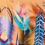 Палантин из вискозы 10811-3, павлопосадский палантин из вискозы, размер 65х200, фото 4